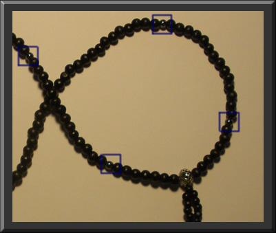 silver bodhisattva beads