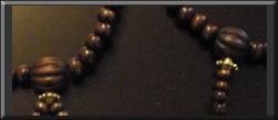wood parent beads
